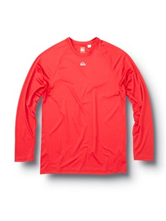 REDThe Bay Long Sleeve T-Shirt by Quiksilver - FRT1