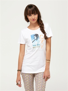 WHTDouble Dare Tee by Roxy - FRT1