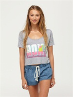 PEWCOTTON CANDY TEE by Roxy - FRT1