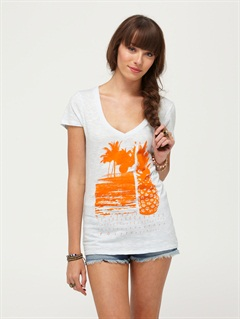ICIRoxy Wave V-Neck Tee by Roxy - FRT1