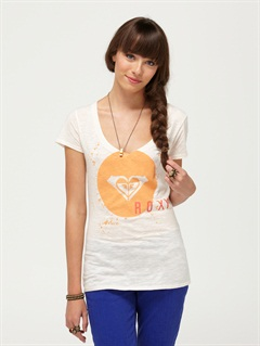 PLPRoxy Wave V-Neck Tee by Roxy - FRT1
