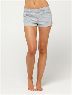 PLPBlaze Embroidered Cut Offs Jean Shorts by Roxy - FRT1