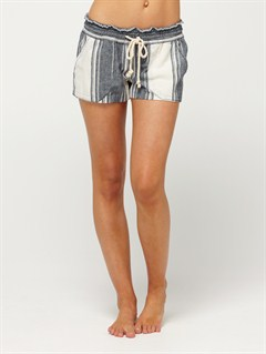 DKSSmeaton Denim Print Shorts by Roxy - FRT1