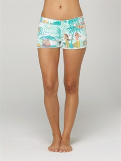 AAQCarnivals Embroidered Shorts by Roxy - FRT1