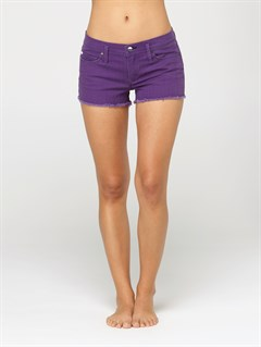 CCDBlaze Embroidered Cut Offs Jean Shorts by Roxy - FRT1