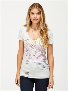 PEWA Splash Of Clouds Top by Roxy - FRT1