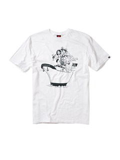 WHTMixed Bag Slim Fit T-Shirt by Quiksilver - FRT1