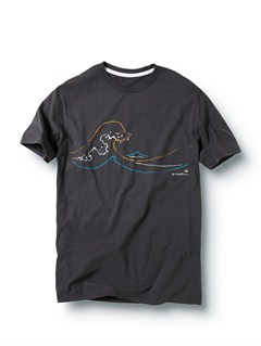 DKCA Frames Slim Fit T-Shirt by Quiksilver - FRT1
